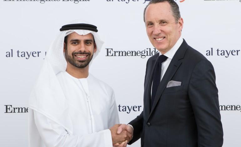 Zegna, con Al Tayer per gli Emirati