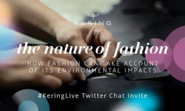 Kering porta su Twitter la sostenibilità