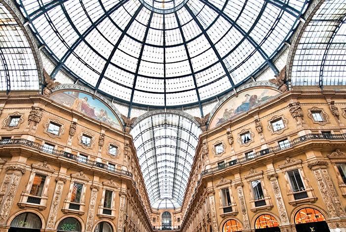Santoni approda in Galleria Vittorio Emanuele