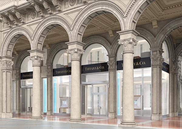 Tiffany apre in Piazza Duomo