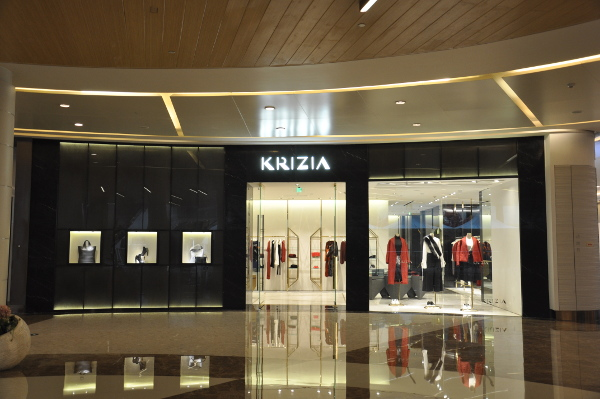 Krizia, primo negozio in Cina