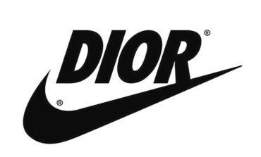 Il giallo di Dior con il baffo di Nike