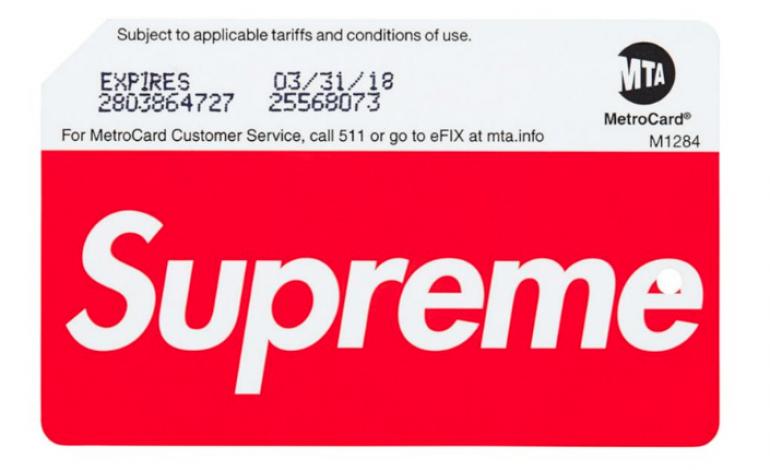 NY, corsa ai biglietti della metro firmati Supreme