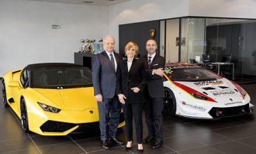 Lamborghini, showroom a Milano con Bonaldi