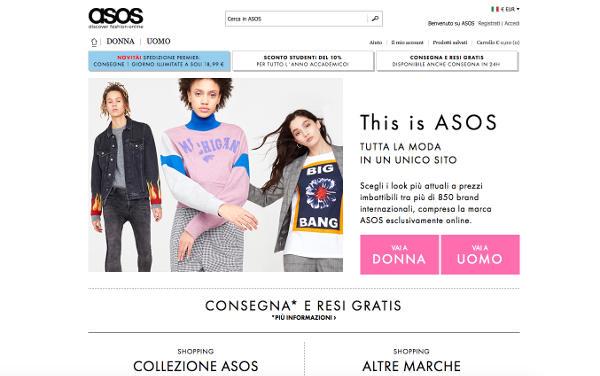 Debutta lo sportswear di Asos