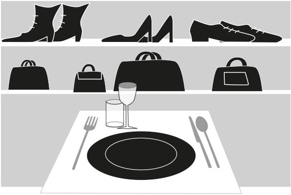 Dalla moda al mattone, la distribuzione si fa con il cibo