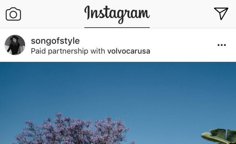 Instagram lancia tool per contenuti sponsored