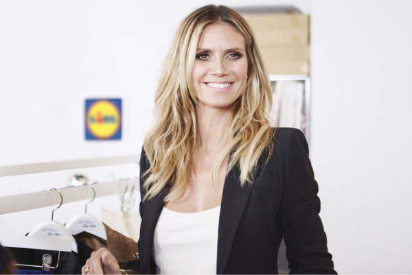 Lidl ingaggia Heidi Klum. E lancia le sue fashion week