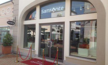 Samsonite apre nel Designer Outlet di Noventa di Piave
