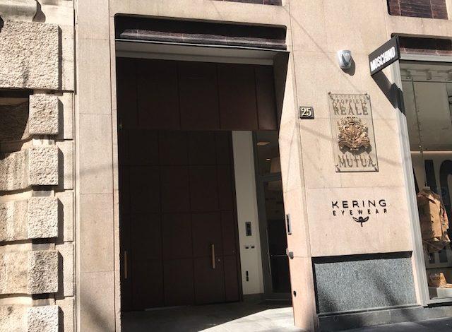 Kering Eyewear trasloca in via Sant'Andrea