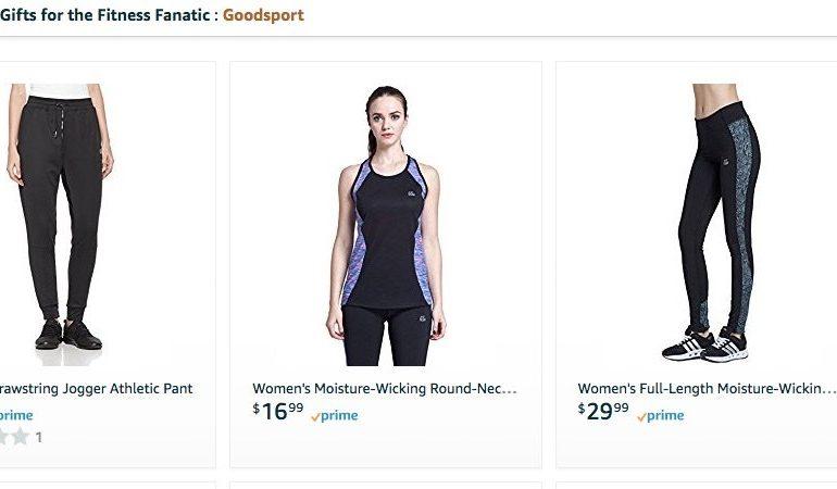 Amazon debutta con 3 private label sportswear
