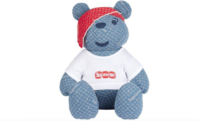 100mila$ per l'orso firmato Louis Vuitton x Supreme