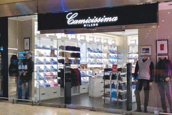 Camicissima punta sul travel retail