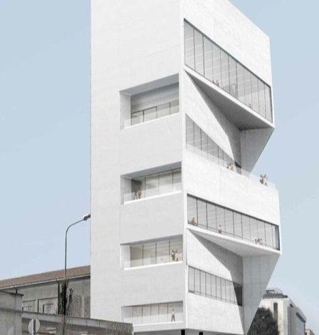 Prada apre (a metà) la sua Torre bianca