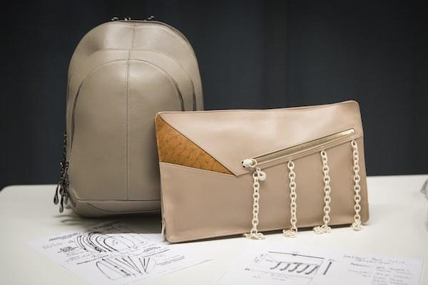 Accademia del Lusso crea due borse con Lanfranchi