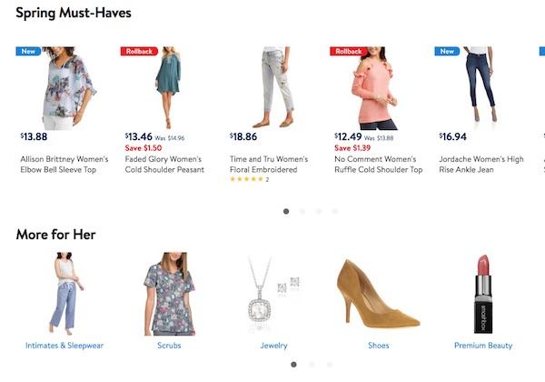Walmart, ricambio fashion. Il 10% sarà 'tendenza'