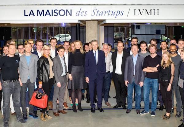 Lvmh lancia La Maison des Startups per 50 talenti