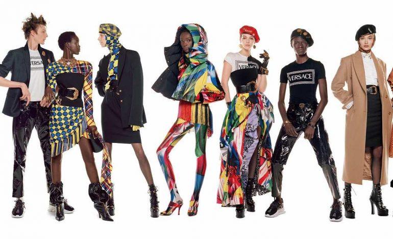 Versace lancia la maxi-campagna con 54 modelli