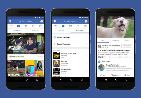 La tv di Facebook arriva anche in Italia