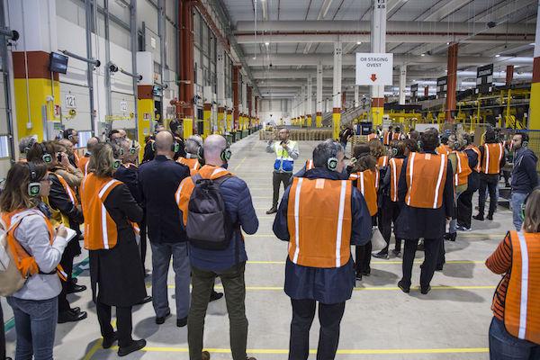 Amazon apre nuovo hub vicino Bergamo