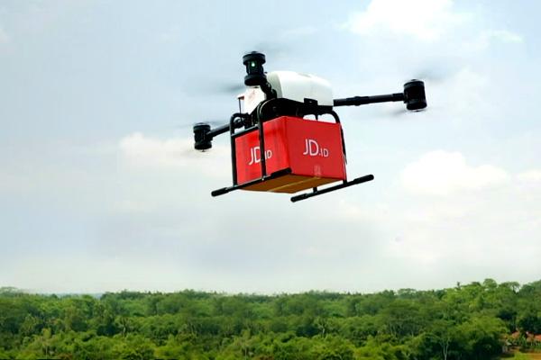 Jd.com fa volare i droni fuori dalla Cina