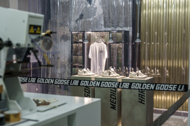 Golden Goose apre a Milano il suo primo Lab