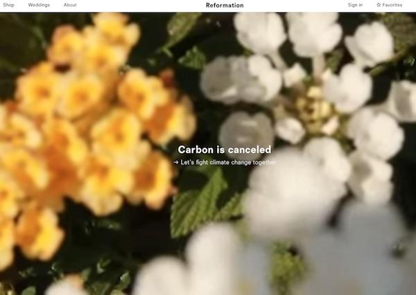 Reformation vende online l'energia green
