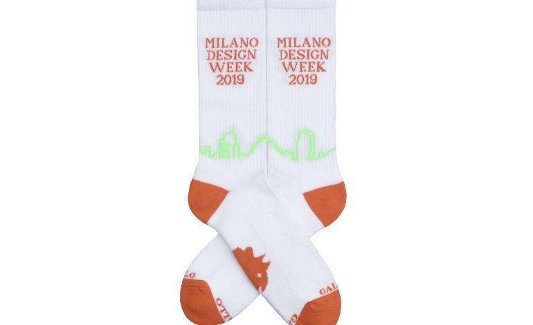 Gallo celebra lo skyline di Milano