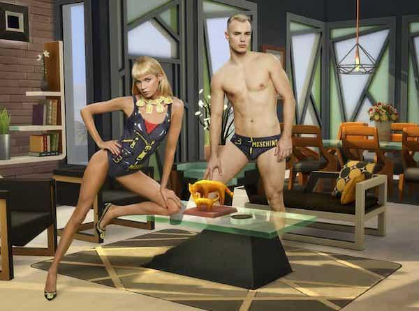 Moschino, capsule ispirata a The Sims