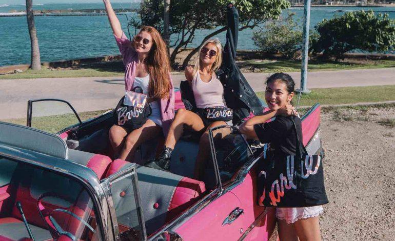 Barbie viaggia con American Tourister
