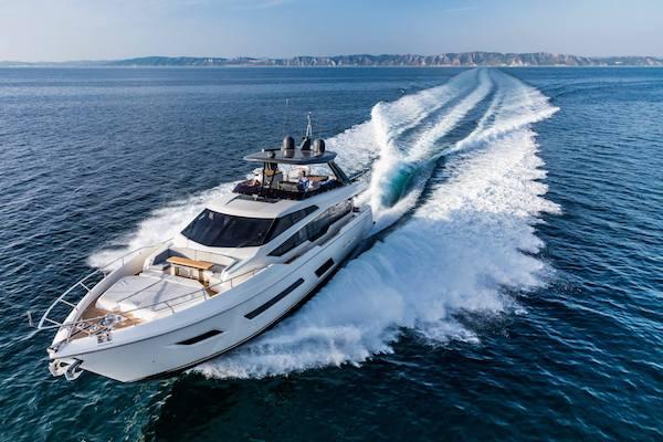 Gli yacht di Ferretti pensano alla Borsa