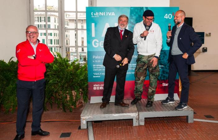 Slam festeggia 40 anni nella sua Genova