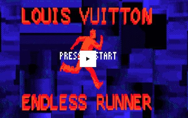 Louis Vuitton lancia il videogioco Endless Runner