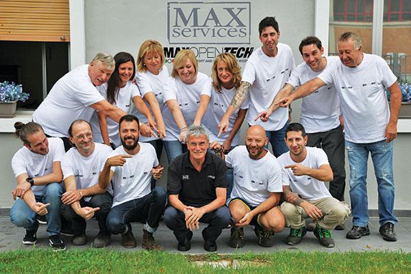 Max Services, da vent'anni al servizio  dei brand