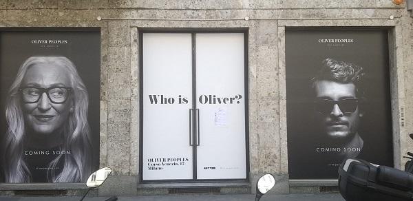 """In corso Venezia spunta """"chi è Oliver?"""""""
