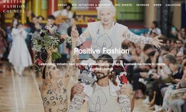 Il Bfc lancia Institute of Positive Fashion