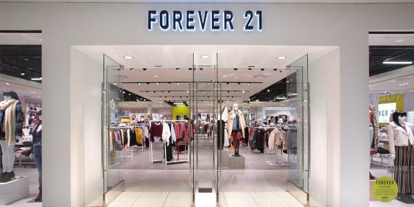Forever 21, e-commerce in Europa e Uk