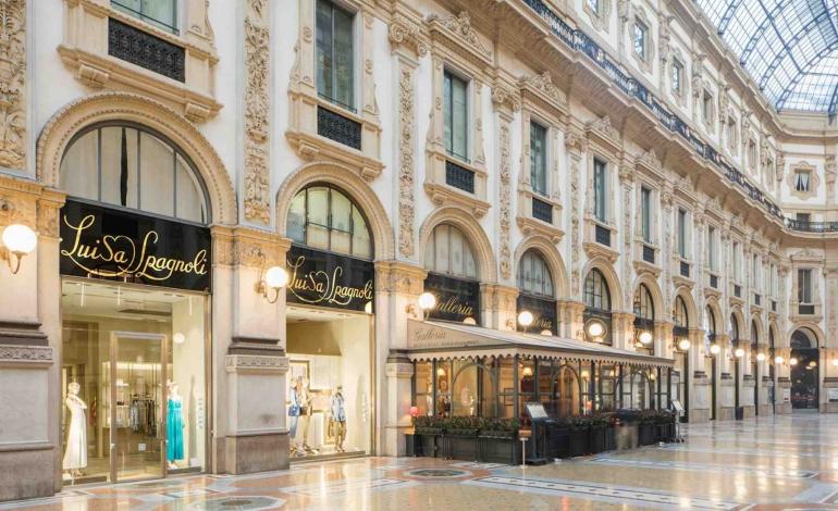 Luisa Spagnoli in Galleria diventa 'Bottega Storica'