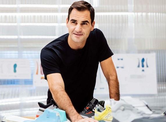 Federer si compra quota delle scarpe da corsa On