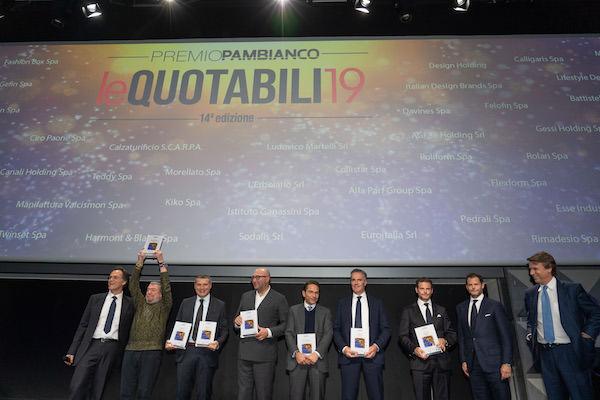 Ecco i vincitori dei 7 premi leQuotabili19 di Pambianco