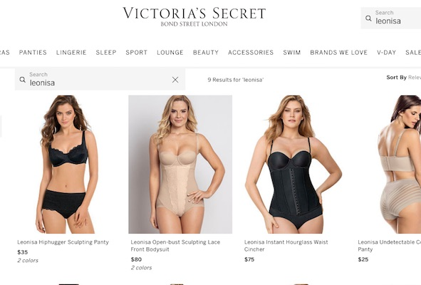 Victoria's Secret lancia lo shapewear