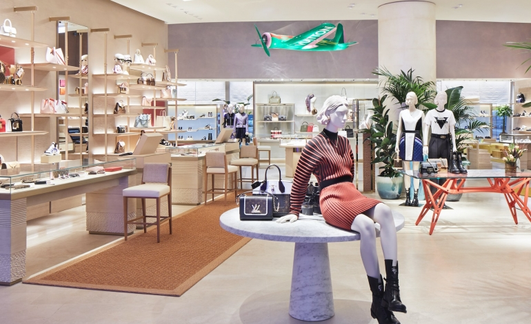 Vuitton per prima volta negli aeroporti italiani