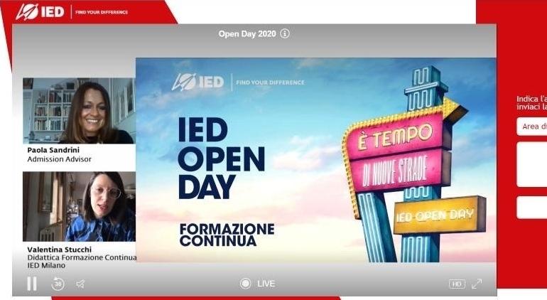 Ied, oltre 3mila partecipanti al primo open day online
