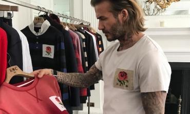 David Beckham esce da Kent & Curwen