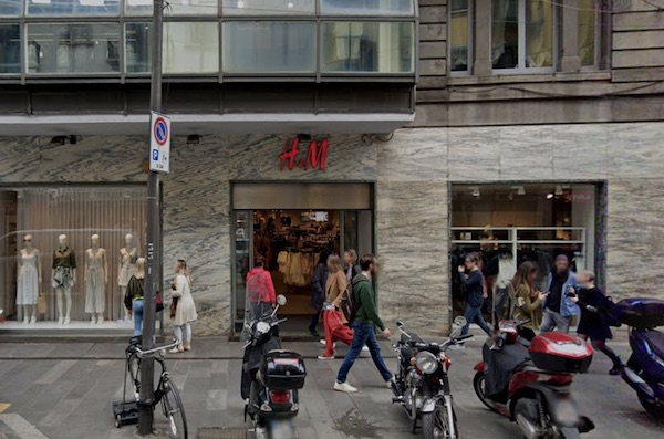 H&M chiude 7 store italiani in via definitiva