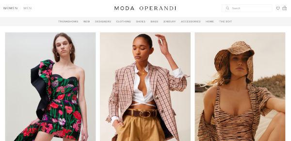 Moda Operandi dice già addio al menswear