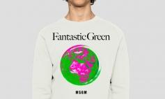 Msgm annuncia la capsule eco 'Fantastic green'