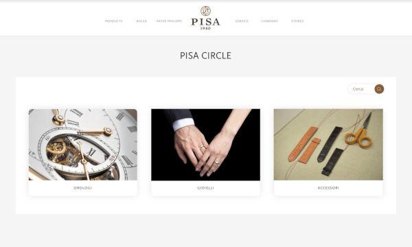 Pisa Orologeria amplia l'offerta digitale