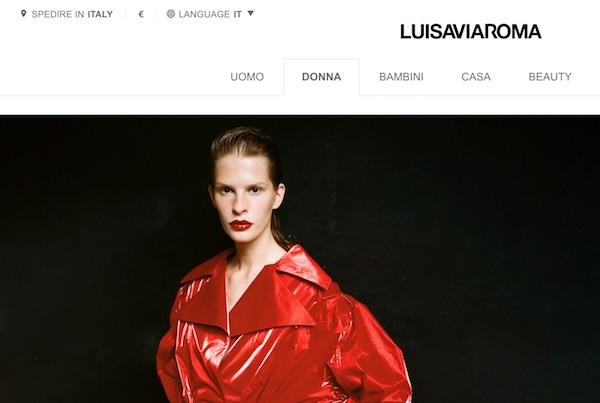 LuisaViaRoma starebbe valutando la vendita