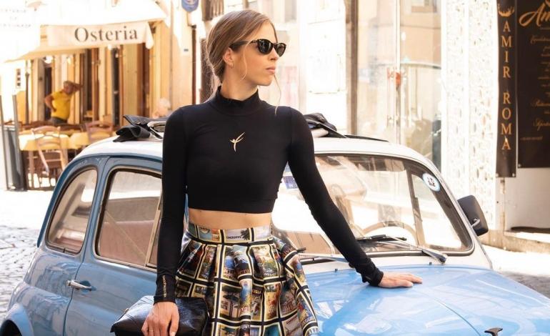 Carolina Kostner lancia la sua prima collezione moda